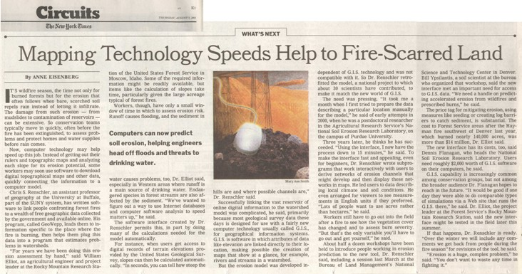 2003 08 NYTimes all